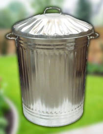 order galvanised dustbins online