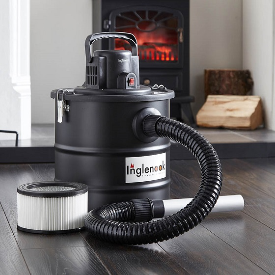 wholesale ash vacuum in front of a fire place